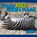 40 Free Wildlife Points?