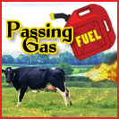 Yes, that's a cow passing gas.